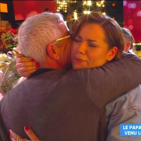 Chimène Badi en larmes face à ce père qu'elle n'avait pas vu depuis longtemps