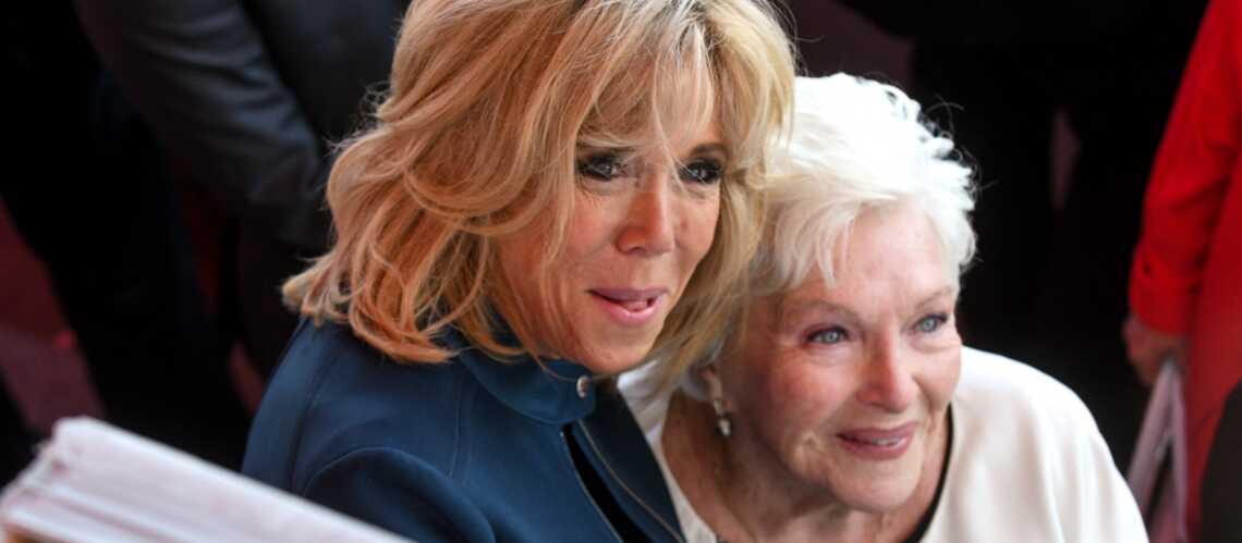 Brigitte Macron au chevet de son amie Line Renaud - Gala