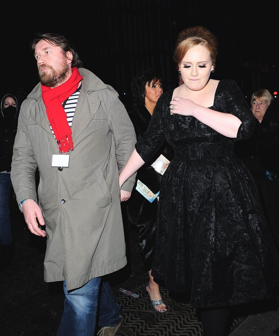 Simon Konecki et Adele