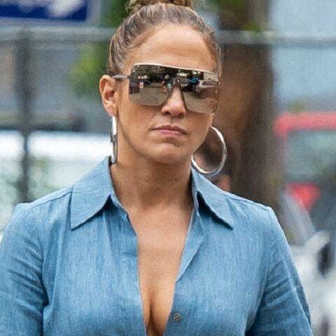 PHOTOS – Jennifer Lopez se promène avec un sac en croco blanc à… 235 000 euros!