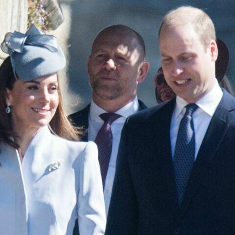 PHOTOS – Kate, William et Harry d'humeur joviale et complices devant la reine, pour la messe de Pâques