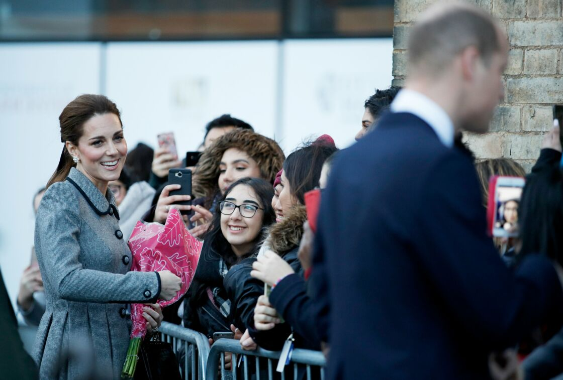 Le regard de Kate pour William qui en dit long