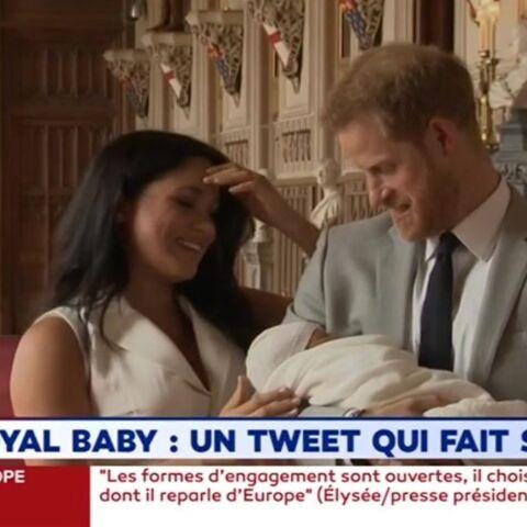 Meghan Markle et Harry: le tweet qui fait scandale après la naissance d'Archie