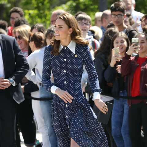 PHOTOS – Kate Middleton sexy en robe fendue : elle copie le look de la meilleure amie de Meghan Markle
