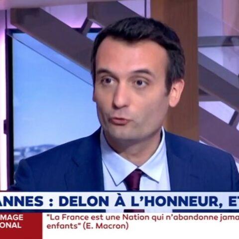 Une pétition contre Alain Delon: Florian Philippot le défend malgré ses propos sur l'homosexualité