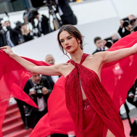 PHOTOS – Cannes 2019: Alessandra Ambrosio, victime d'un coup de vent, manque d'en dévoiler trop…