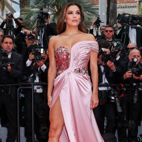 PHOTOS – Cannes 2019: Eva Longoria sublime en robe fendue, la jeune maman a retrouvé la ligne