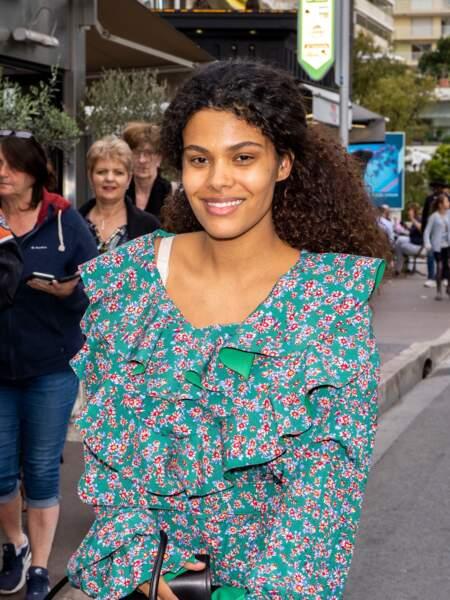 Tina Kunakey, la jeune maman lumineuse à Cannes un petit mois après son accouchement