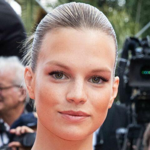 PHOTOS – Cannes 2019: Nadine Leopold en short, le mannequin ose un look détonnant sur le tapis rouge