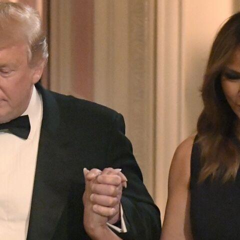 Donald et Melania Trump: ces gestes tendres qui surprennent