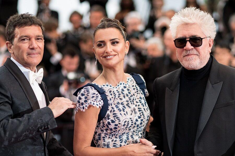 Antonio Banderas, Penelope Cruz et Pedro Almodovar pour