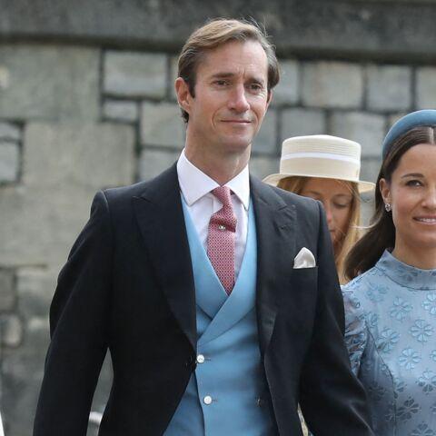 PHOTOS – Mariage de Gabriella Windsor: Pippa Middleton fait sensation aux bras de son mari James