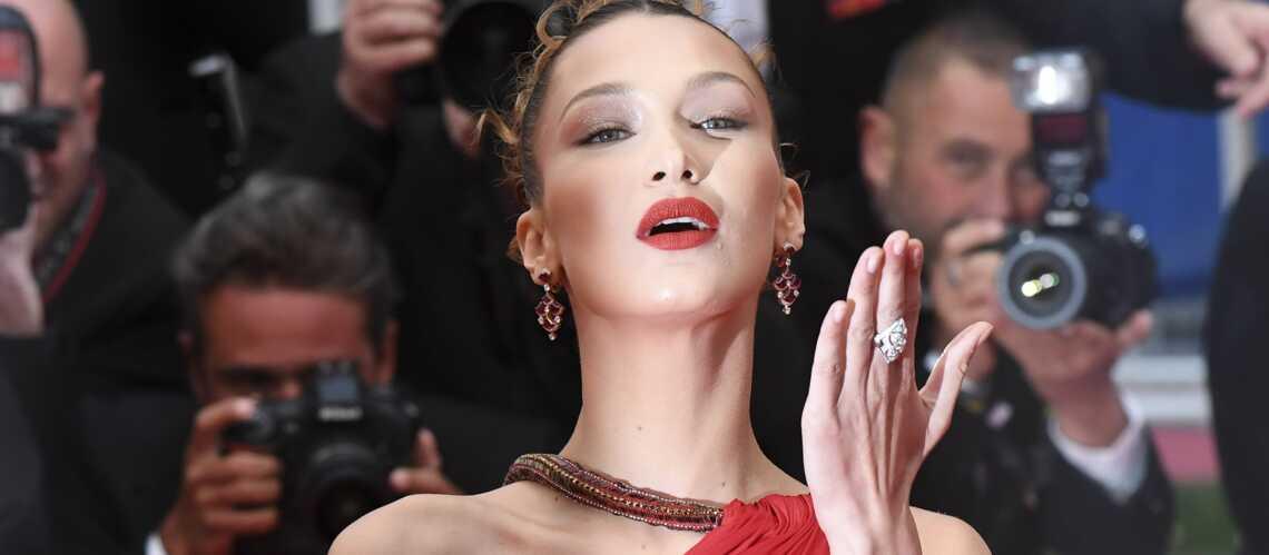 PHOTOS – Cannes 2019: Bella Hadid hypnotisante dans une robe fendue et dos-nu - Gala