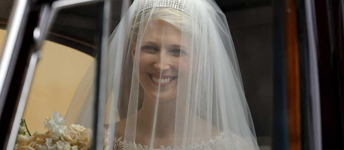 PHOTOS – Gabriella Windsor, radieuse dans une robe en dentelle transparente - Gala