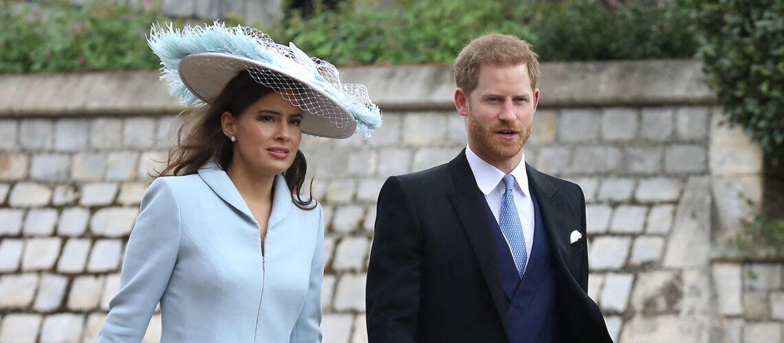 PHOTOS – Le prince Harry sans Meghan Markle au mariage de Gabriella Windsor: qui est celle qui l'a accompagné - Gala