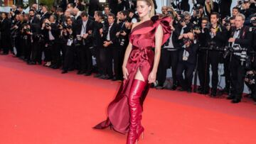 PHOTOS – Cannes 2019 : Amber Heard sublime tentatrice en cuissardes rouges sur les marches
