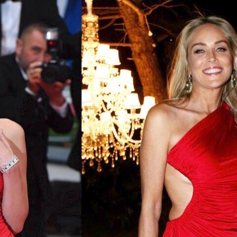 PHOTOS – Cannes 2019: quand Bella Hadid porte la même robe que Sharon Stone… six ans plus tard