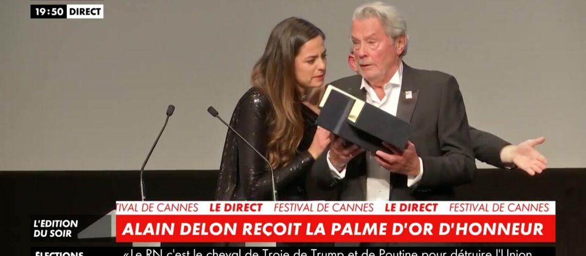 VIDEO – Cannes 2019: Alain Delon et sa fille Anouchka en larmes: «C'est une fin de vie» - Gala