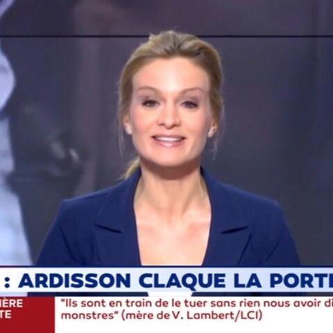 Thierry Ardisson quitte C8: la déclaration d'amour de sa femme Audrey Crespo-Mara en direct sur LCI