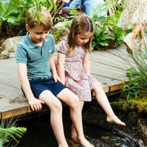 A 4 ans, la princesse Charlotte mate déjà son grand frère George