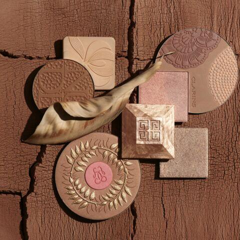 PHOTOS – Maquillage d'été: comment utiliser les teintes dorées et cuivrés?