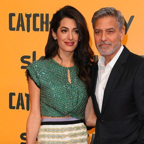 Amal et George Clooney, très inquiets pour la sécurité de leurs jumeaux