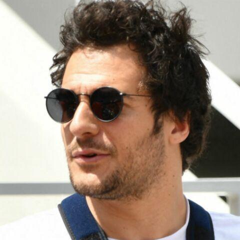 PHOTOS – Roland Garros 2019: Amir, le bras dans le plâtre, retrouve le sourire après un accident en plein concert