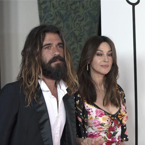 PHOTOS – Monica Bellucci et son amoureux Nicolas, couple chic et bohème à Madrid