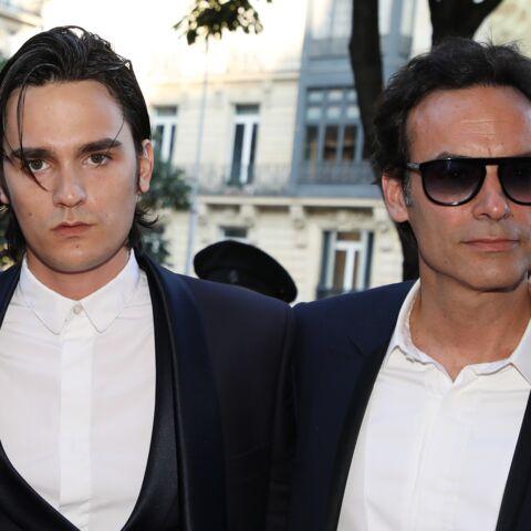 PHOTOS – Alain-Fabien et Anthony Delon très soudés: entre les frères, c'est l'union sacrée