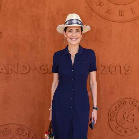PHOTOS – Cristina Cordula, Anne-Claire Coudray, Chloé Jouannet: belles de match au Village de Roland-Garros