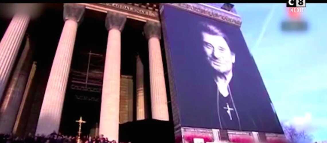 VIDÉO – L'enterrement de Johnny Hallyday comparé au «Festival de Cannes» - Gala