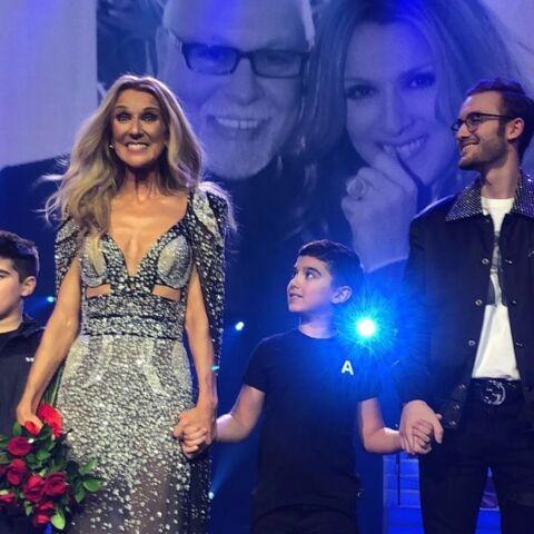 VIDEO: Céline Dion rejointe sur scène par ses trois enfants pour sa dernière date à Las Vegas