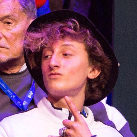 PHOTOS – Yannick Noah:  son fils Joalukas fête ses quinze ans et il a bien grandi!