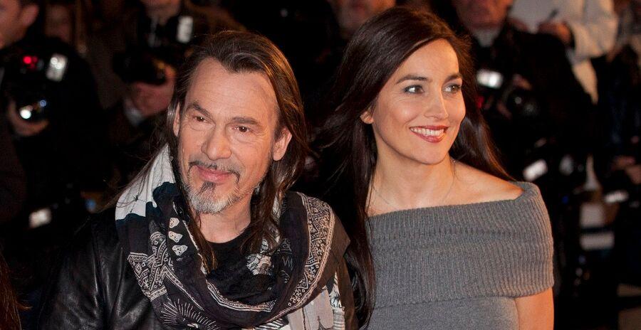 Florent Pagny et Azucena aux NRJ Music Awards, à Cannes, en 2013.