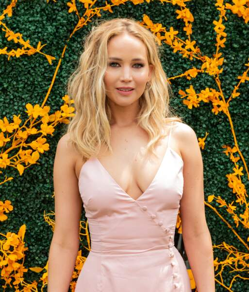 Un blond ravissant et nuancé comme Jennifer Lawrence