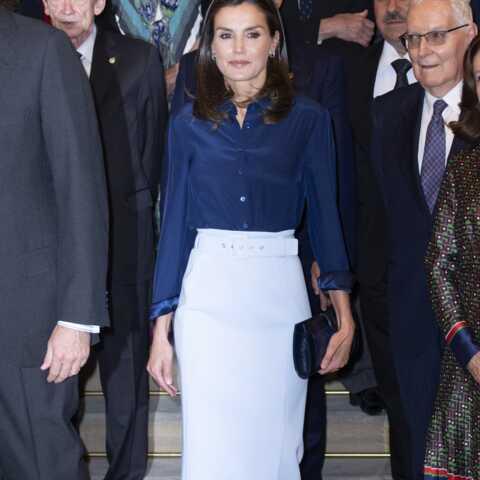 PHOTOS – Letizia d'Espagne copieuse? Elle porte la même jupe crayon que deux princesses!