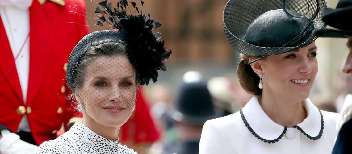 Kate Middleton, jugée froide et distante avec Letizia d'Espagne: une nouvelle rivalité? - Gala