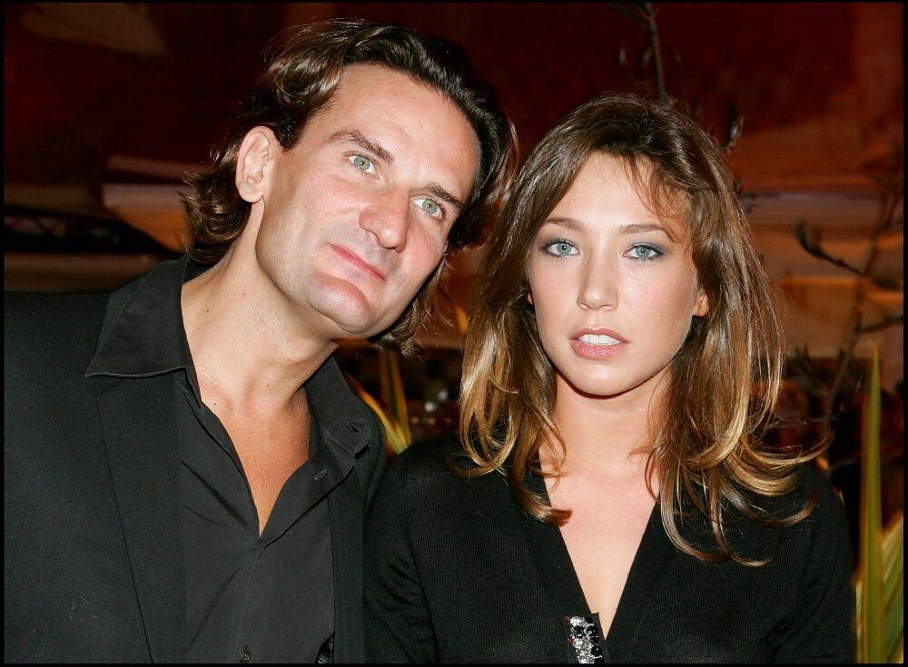 Frédéric Beigbeder et Laura Smet au festival du film américain de Deauville, le 3 septembre 2005.
