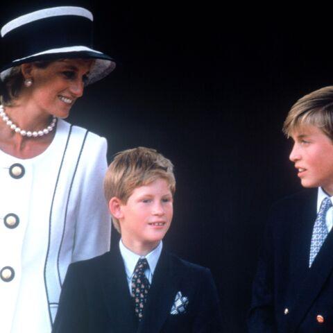 Pourquoi la princesse Diana aurait été choquée par la rivalité entre ses fils Harry et William