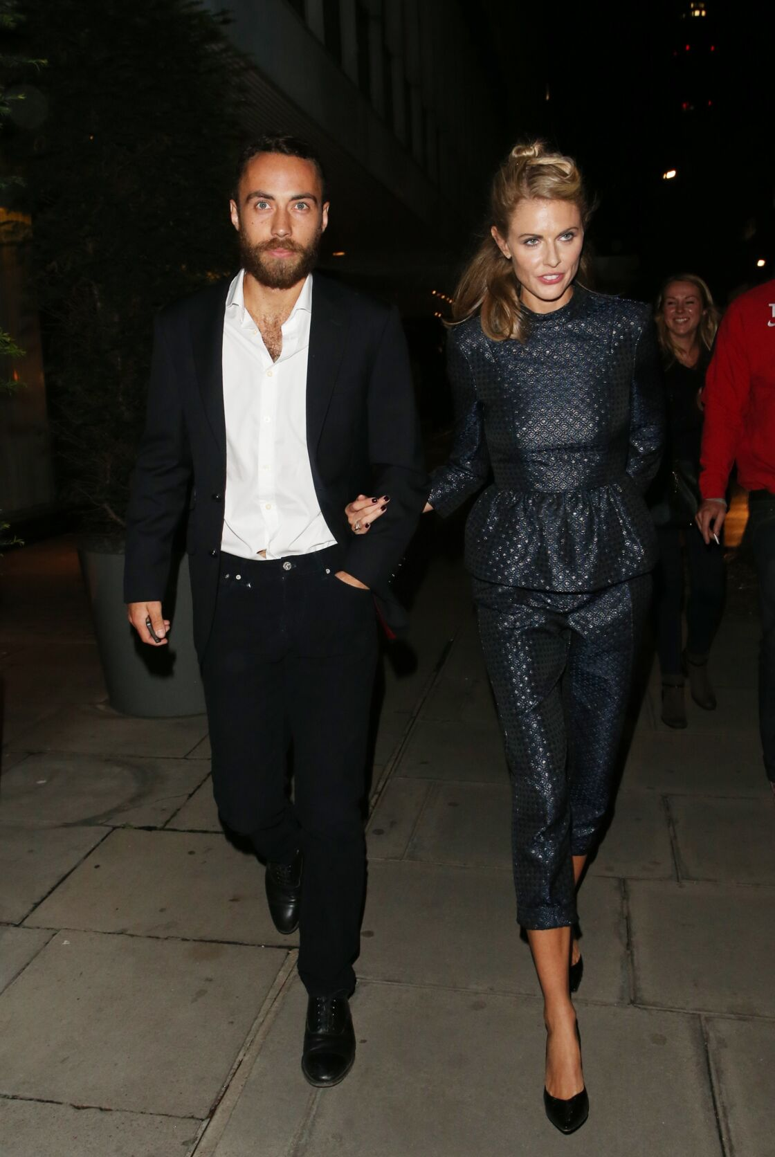 James Middleton et son ex Donna Air