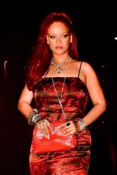Rihanna adopte la coloration star de l'été 2019