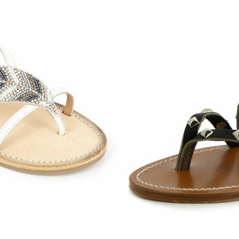 PHOTOS – Craquez pour des sandales plates, super tendances cet été 2019
