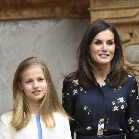 Letizia d'Espagne: sa fille Leonor 13 ans et demi sort de l'ombre