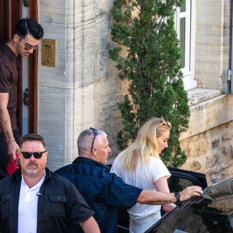 PHOTOS – Joe Jonas et Sophie Turner: sécurité maximale pour le mariage de l'année!