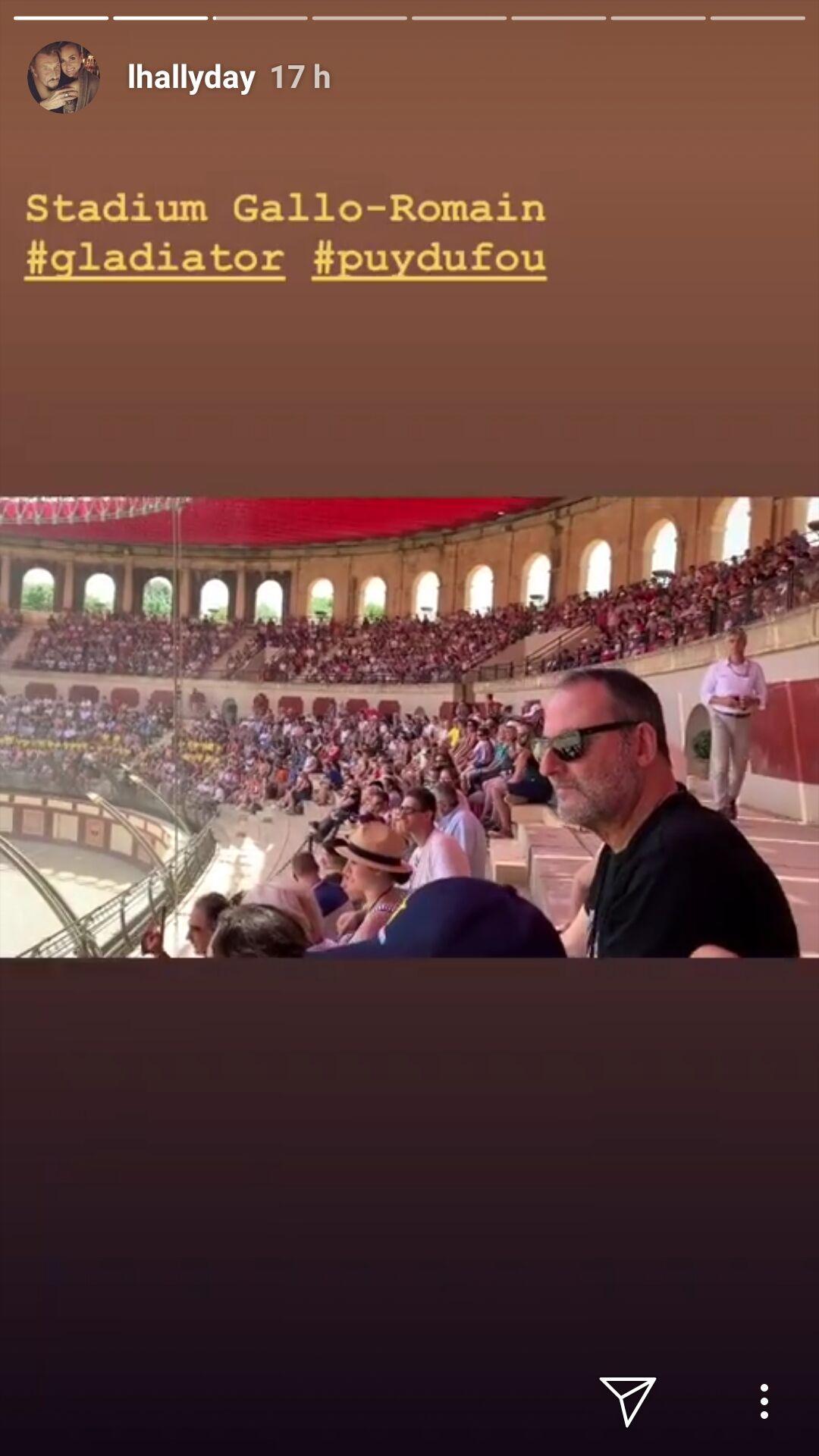 Jean Reno au Puy du Fou