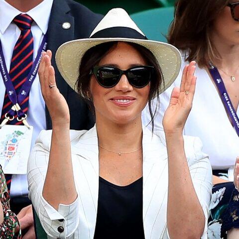 PHOTOS – Meghan Markle tout sourire en solo à Wimbledon: la brouille avec Kate Middleton relancée…