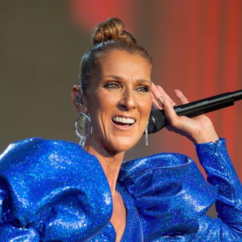 PHOTOS -Céline Dion incroyable en combi à paillettes et manches ballons pour son concert à Londres