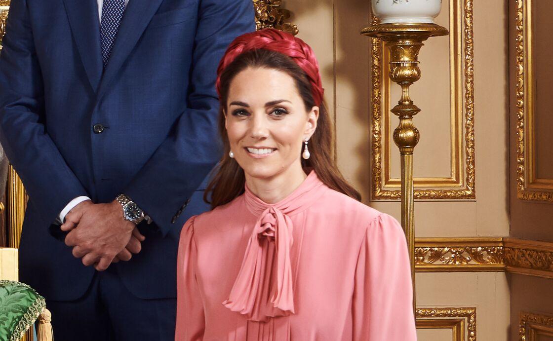 Kate Middleton lors du baptême d'Archie, ce samedi 6 juin.