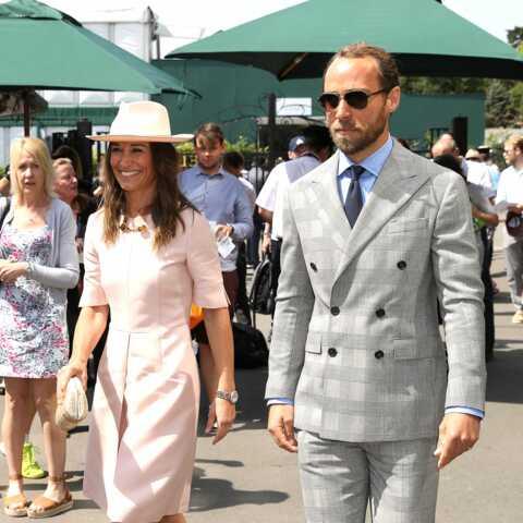 PHOTOS – Pippa Middleton en Stella McCartney, la petite sœur de Kate et son frère inséparables à Wimbledon