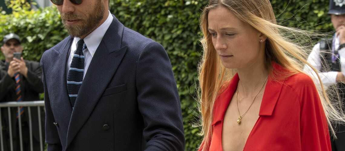 Alizée Thevenet, fiancée de James Middleton : son décolleté très plongeant à Wimbledon fait parler - Gala